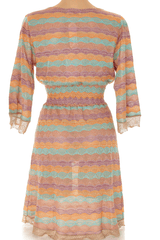 CECILIA PRADO KATIA Multicolor Knitted Dress
