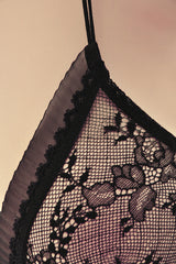 CHRISTIES DELICES Black Lace Bra