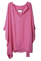 CLUBE BOSSA - KARMEN Fuchsia Tunic Dress - Kaftan- Woman Clothing