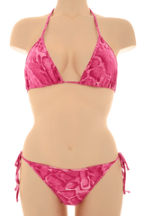 CLUBE BOSSA PINK ANIMAL Print Triangle Bikini
