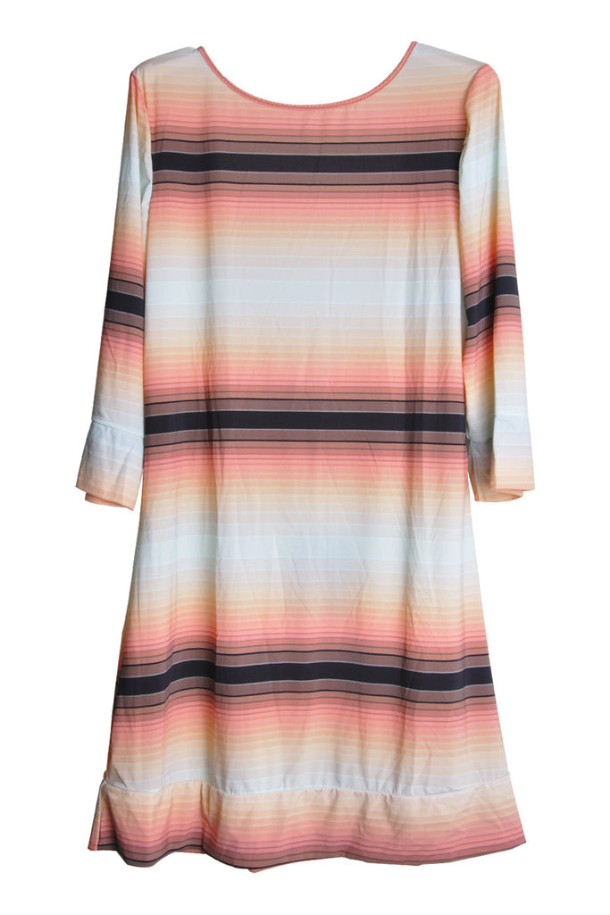 CLUBE BOSSA SUNSET Gradient Beach Dress