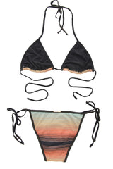 CLUBE BOSSA SUNSET Gradient Triangle Bikini