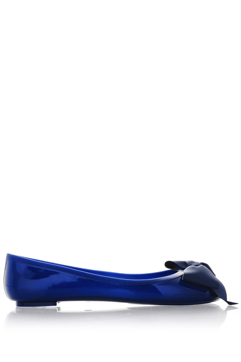 COLORS OF CALIFORNIA CHIC IN THE CITY Blue Ballerinas