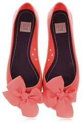 COLORS OF CALIFORNIA CHIC IN THE CITY Coral Ballerinas