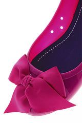 COLORS OF CALIFORNIA CHIC IN THE CITY Fuchsia Ballerinas