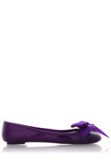 COLORS OF CALIFORNIA CHIC IN THE CITY Purple Ballerinas
