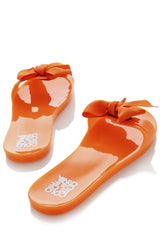COLORS OF CALIFORNIA JELLY PASSION Orange Flip Flops