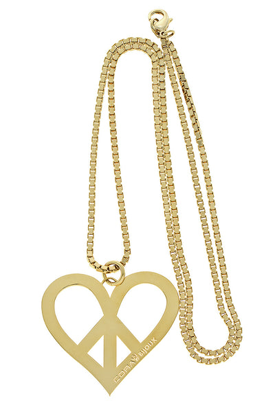 CORA BIJOUX MY LOVE Gold Heart Pendant