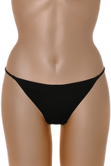 COTTON CLUB 230 Black Thong