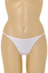 COTTON CLUB CLAUDIA White Thong