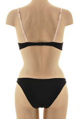 COTTON CLUB GEISHA Black Nude Briefs