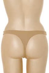 COTTON CLUB GILDA Beige Thong