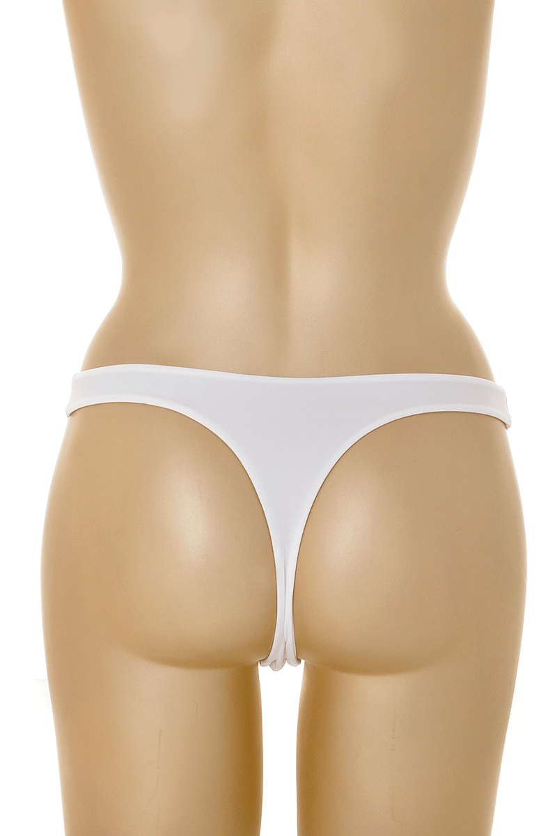 COTTON CLUB GILDA White Thong