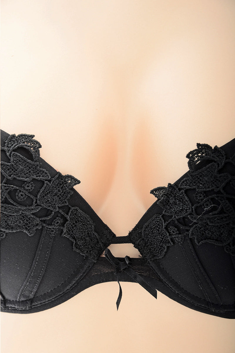COTTON CLUB KAYDEN Black Lace Bra