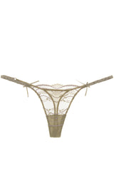 COTTON CLUB LAVENDER Lace Thong