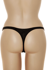 COTTON CLUB NAOMI Black Thong