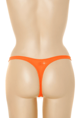 COTTON CLUB NAOMI Orange Thong