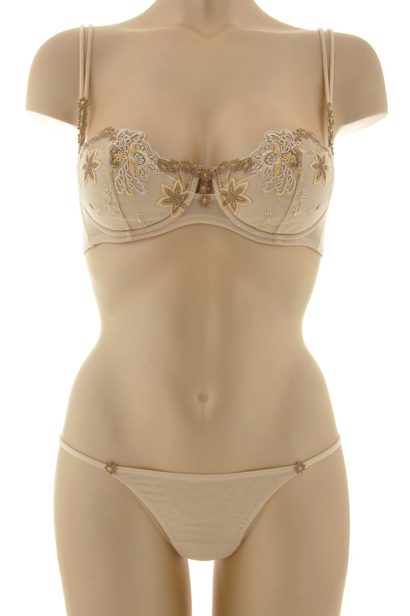 COTTON CLUB SPRING Nude Balconette Bra