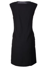 C BLOCK ISIA Black Knee-Length Dress