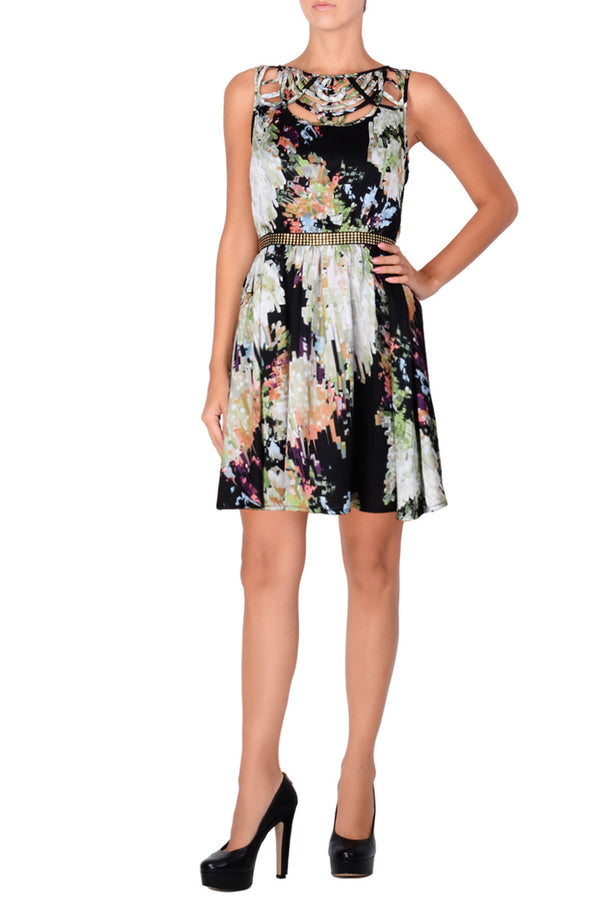 C BLOCK BEATRICE Cocktail Print Dress