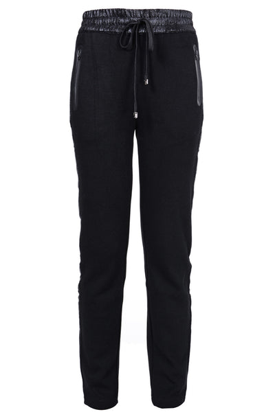 C BLOCK - LENDRA Black Tracksuit Pants | Women's Clothing