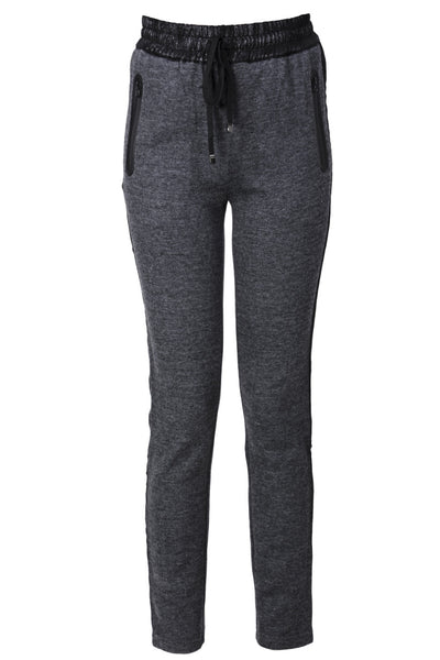 C BLOCK - LENDRA Grey Tracksuit Pants | Women's Clothing