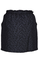 C BLOCK ROSALINE Black Jacquard Skirt