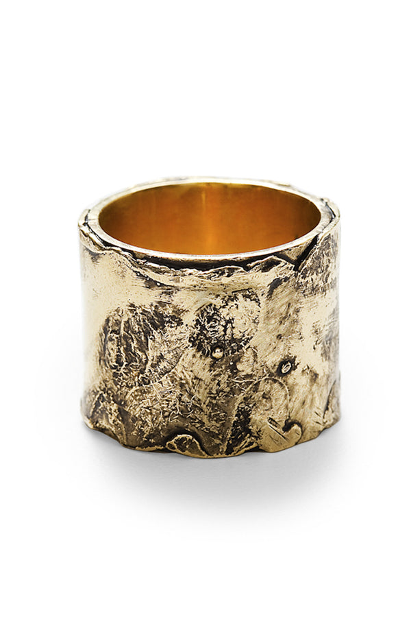 BY THE STONES ANTIQUE Gold Ring