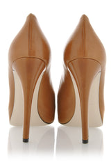Dolce & Gabbana CARAMELLO Decollette Bufalo Leather Pumps