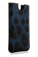 Dolce & Gabbana LEOPARD Blu iPhone® Case