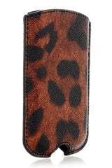 Dolce & Gabbana LEOPARD Brown Blackberry/ Samsung Case