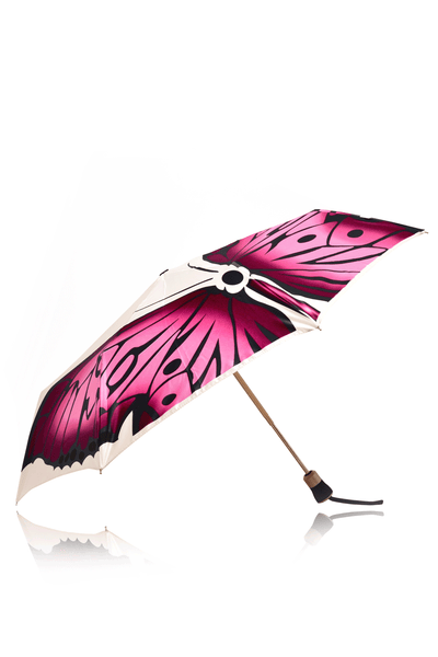 BUTTERFLY WINGS Pearl White Umbrella