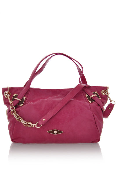 ELLIOTT LUCCA CORDOBA Watermelon Satchel Bag