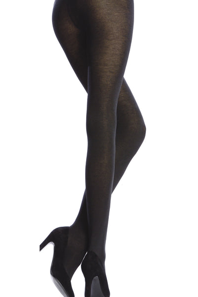 EMILIO CAVALLINI MODAL CASHMERE Tights MEDIUM GRAY 190 D