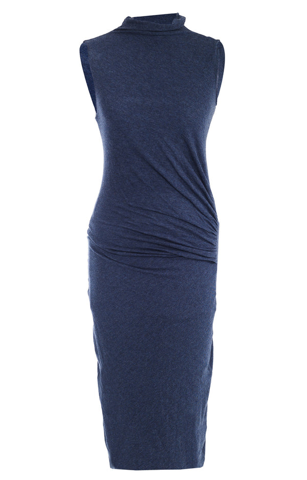 ENZA COSTA SAPPHIRE Blue Sleeveless Dress