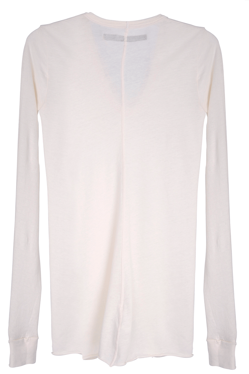 ENZA COSTA TISSUE Jersey Bold Nude Long Sleeve Top