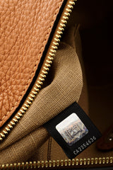 FENDI SELLERIA Brown Messenger Bag