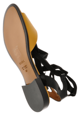 FENDI SUMMERTIME Curry Black Sandals