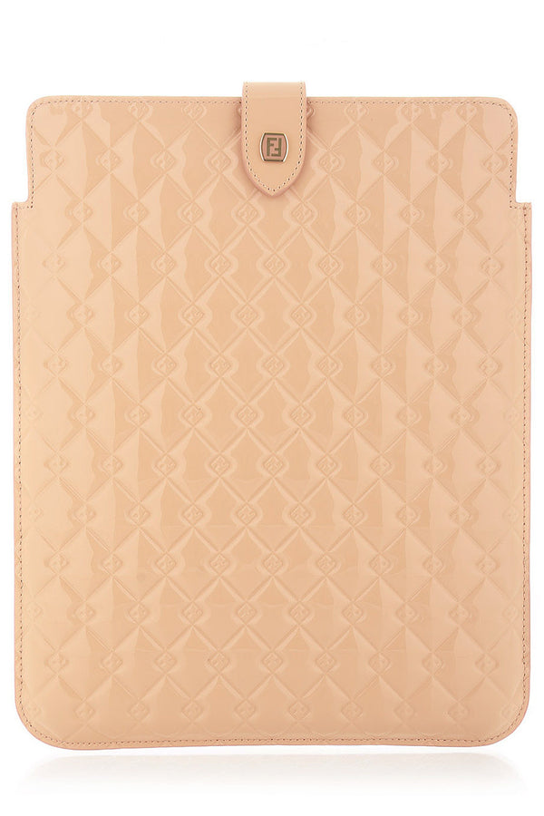 FENDI QUILTED Nude iPad® Case