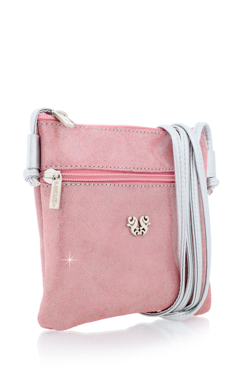 FERCHI MINI MADELINE Baby Pink Crossbody Bag