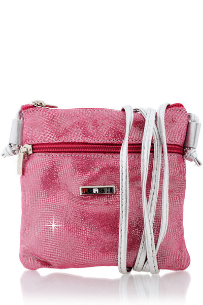 FERCHI MINI MADELINE Fuchsia Crossbody Bag