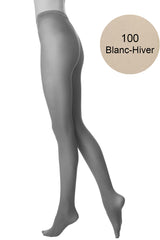 FOGAL 138 OPAQUE 100 Blanc-Hiver Tights
