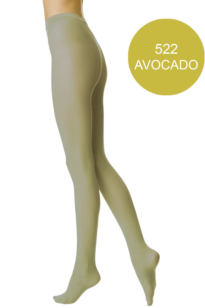 FOGAL 138 OPAQUE 522 Avocado Tights