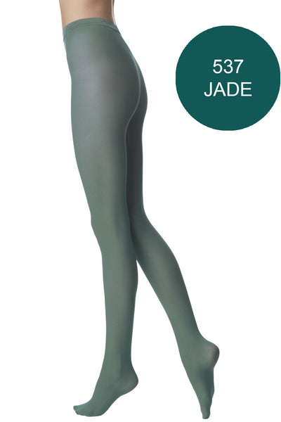 FOGAL 138 OPAQUE 537 Jade Tights
