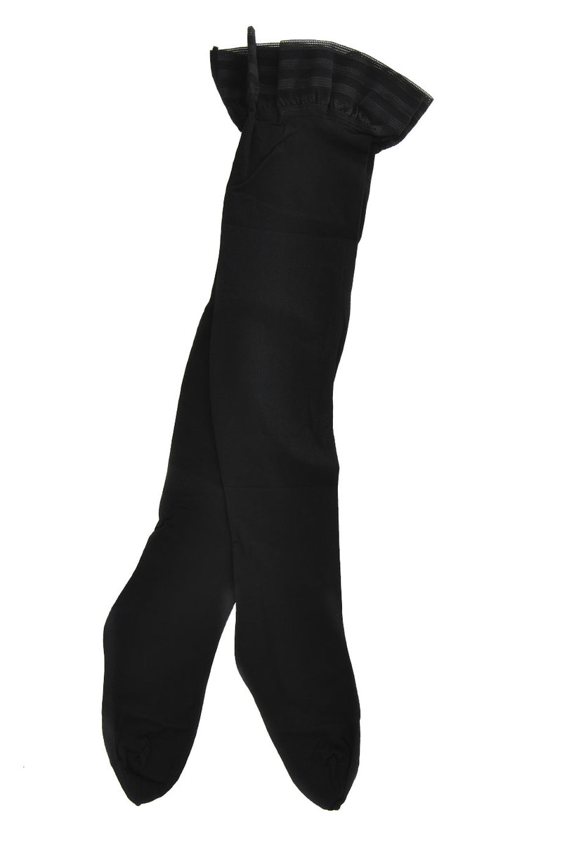 FOGAL 207 VELOUR OPAQUE Black Hold-Ups