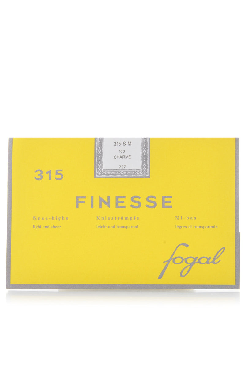 FOGAL 315 FINESSE Knee Highs Light and Sheer 107 Blossom