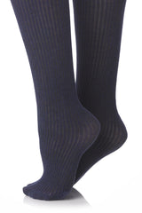 FOGAL 338 COTTON RIB Knee Highs 706 Calvados