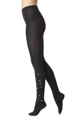 FOGAL 528 ART DECO Floral Tights
