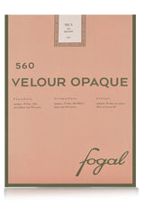 FOGAL 560 VELOUR OPAQUE Tights 50D 512 Green