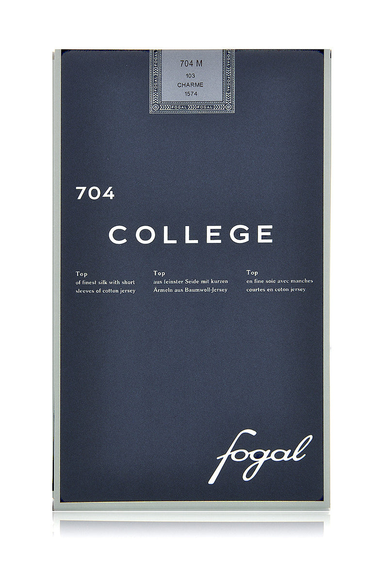 FOGAL 704 COLLEGE Cotton Silk Top